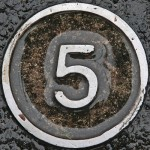 Five Manhole Cover
