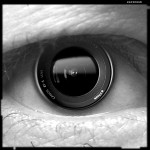 eye with camera